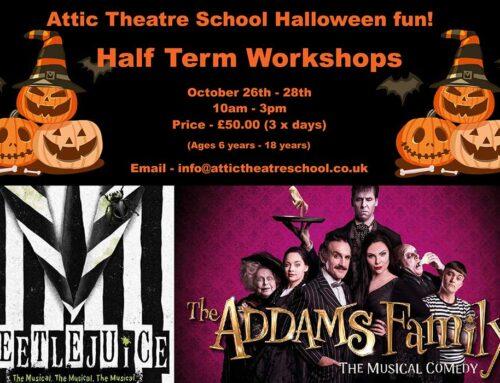 Halloween Half-Term Workshop